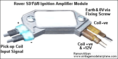 Click image to enlarge Rover SD1 Ignition Amplifier Module