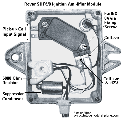 Rover SD1 Ignition Amplifier Module Click image to enlarge