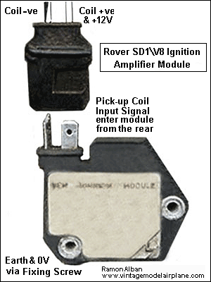 Click to enlarge Rover SD1 Ignition Amplifier Module