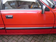 Rover SD1 ReChromed Side Rubbing Strip