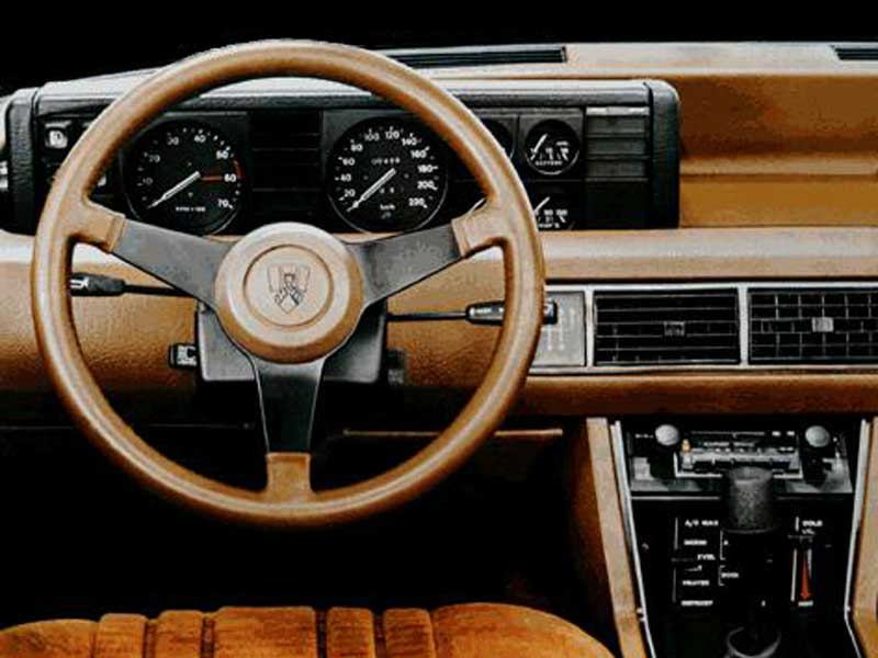 Rover SD1 Steering Wheel Specially Adapted for LHD - TeeHee!