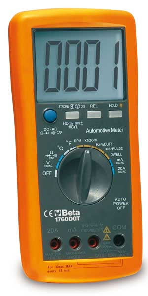 Automotive Multimeter with Tacho Function