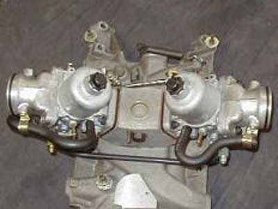 Pair of SU Carburettors