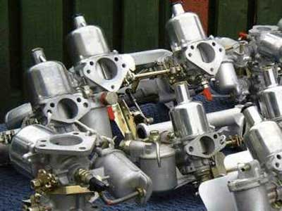 Multiple SU Carburettors