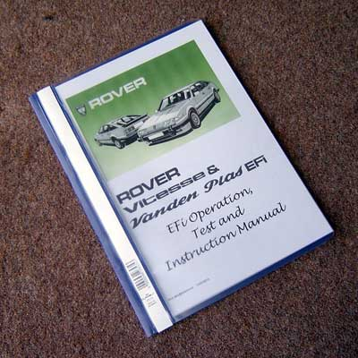 Click to Buy the Rover Efi Operations Manual