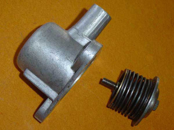 Rover SD1 Efi Overrun Valve - Adjustment Nut - Click to Enlarge