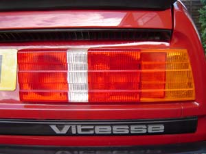 Rover SD1 Stop and Fog Light Modifications