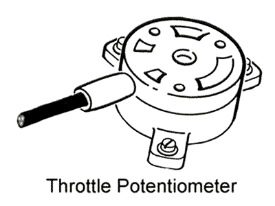 Rover SD1 Throttle Potentiometer
